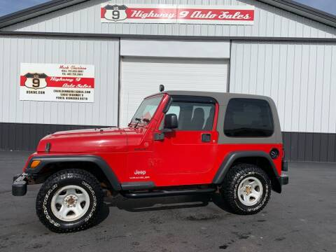 2004 Jeep Wrangler Sport for sale at Highway 9 Auto Sales - Visit us at usnine.com in Ponca NE