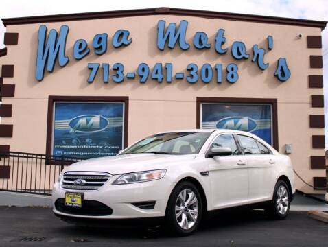 2010 Ford Taurus for sale at MEGA MOTORS in South Houston TX