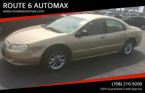1999 Chrysler LHS for sale at ROUTE 6 AUTOMAX in Markham IL