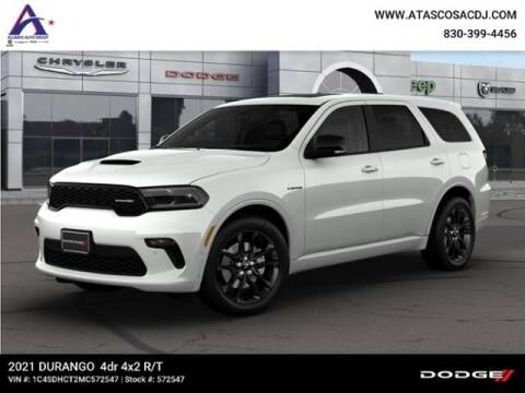 2021 Dodge Durango for sale at ATASCOSA CHRYSLER DODGE JEEP RAM in Pleasanton TX