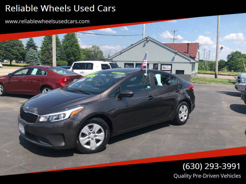 2017 Kia Forte for sale at Reliable Wheels Used Cars in West Chicago IL