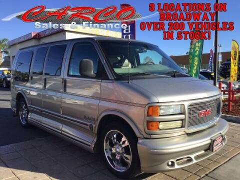 2001 GMC Savana Cargo for sale at CARCO SALES & FINANCE #3 in Chula Vista CA