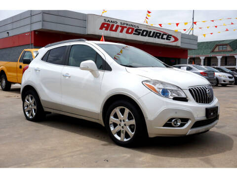 2014 Buick Encore for sale at Sand Springs Auto Source in Sand Springs OK