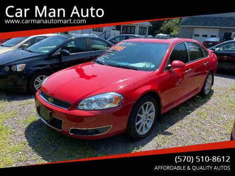 2011 Chevrolet Impala for sale at Car Man Auto in Old Forge PA