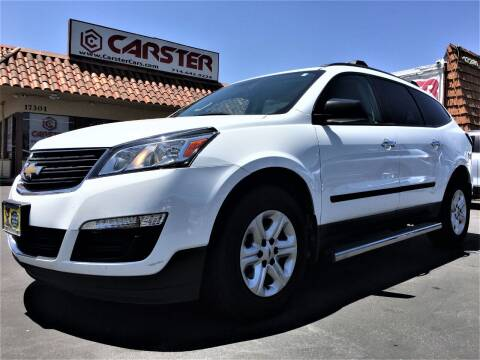 2016 Chevrolet Traverse for sale at CARSTER in Huntington Beach CA