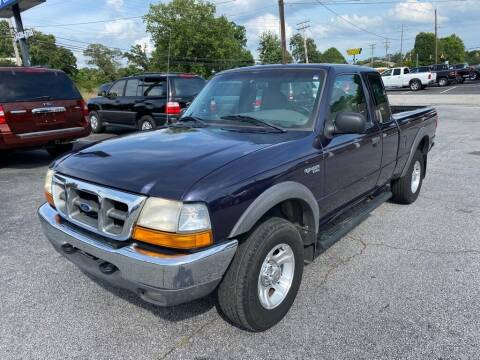 2000 Ford Ranger for sale at Brewster Used Cars in Anderson SC