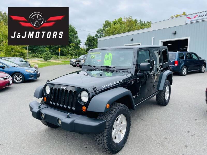 2008 Jeep Wrangler Unlimited for sale at J & J MOTORS in New Milford CT