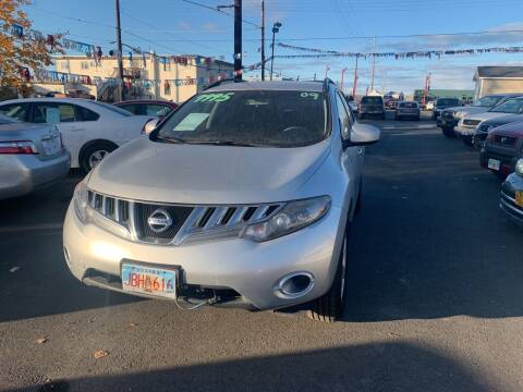 2009 Nissan Murano for sale at ALASKA PROFESSIONAL AUTO in Anchorage AK