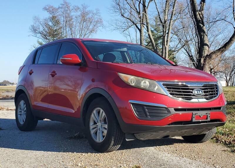 2011 Kia Sportage for sale at A F SALES & SERVICE in Indianapolis IN