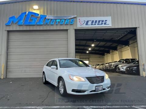 2014 Chrysler 200 for sale at MGI Motors in Sacramento CA