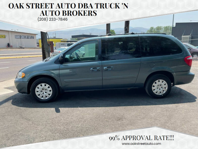 2005 Chrysler Town and Country for sale at Oak Street Auto DBA Truck 'N Auto Brokers in Pocatello ID