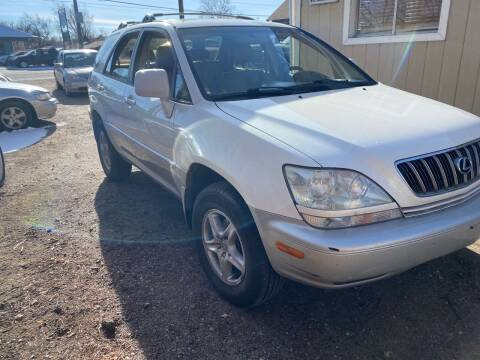 2001 Lexus RX 300 for sale at Fast Vintage in Wheat Ridge CO