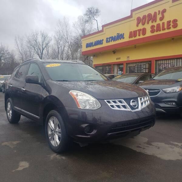 2013 Nissan Rogue for sale at Popas Auto Sales in Detroit MI