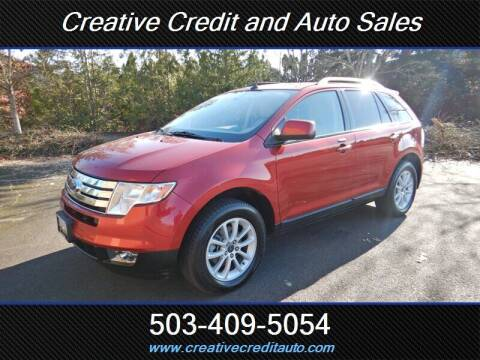 2007 Ford Edge for sale at Creative Credit & Auto Sales in Salem OR