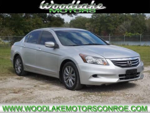 2012 Honda Accord for sale at WOODLAKE MOTORS in Conroe TX