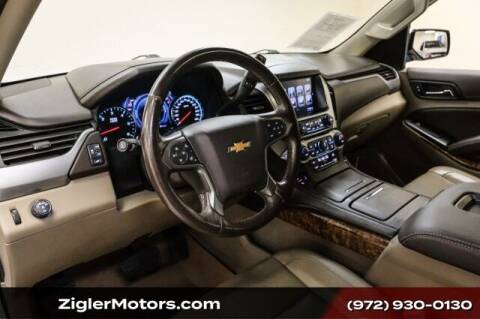 2017 Chevrolet Suburban for sale at Zigler Motors in Addison TX