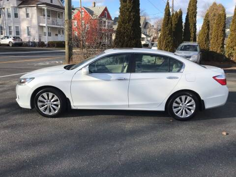 2013 Honda Accord for sale at Auto Kraft in Agawam MA