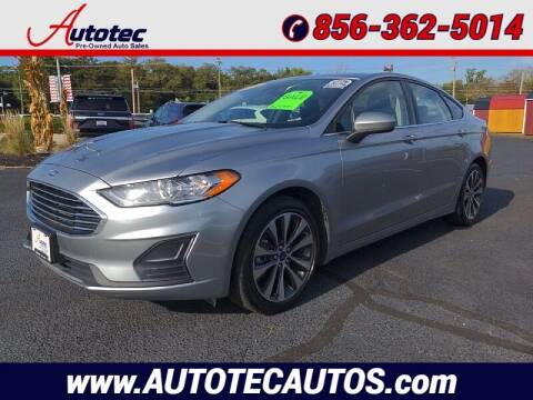 2020 Ford Fusion for sale at Autotec Auto Sales in Vineland NJ