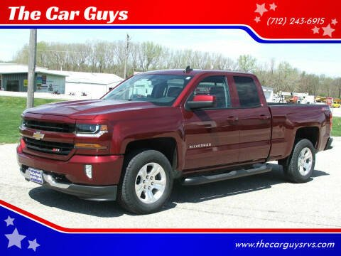 2016 Chevrolet Silverado 1500 for sale at The Car Guys in Atlantic IA