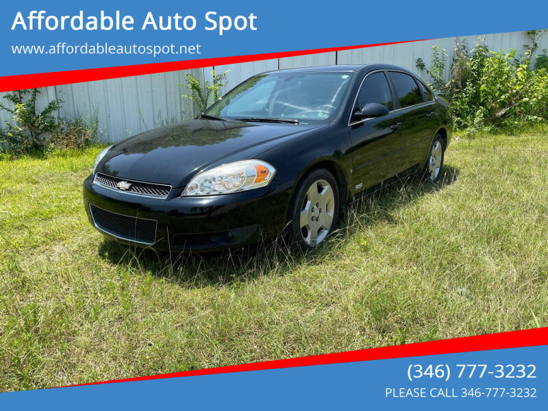 2006 Chevrolet Impala for sale at Affordable Auto Spot in Houston TX