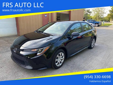 2020 Toyota Corolla for sale at FRS AUTO LLC in West Palm Beach FL