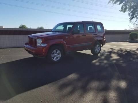 2010 Jeep Liberty for sale at Sooner Automotive Sales & Service LLC in Peoria AZ