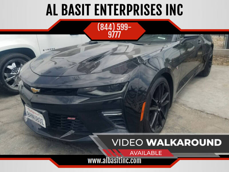 2018 Chevrolet Camaro for sale at AL BASIT ENTERPRISES INC in Riverside CA
