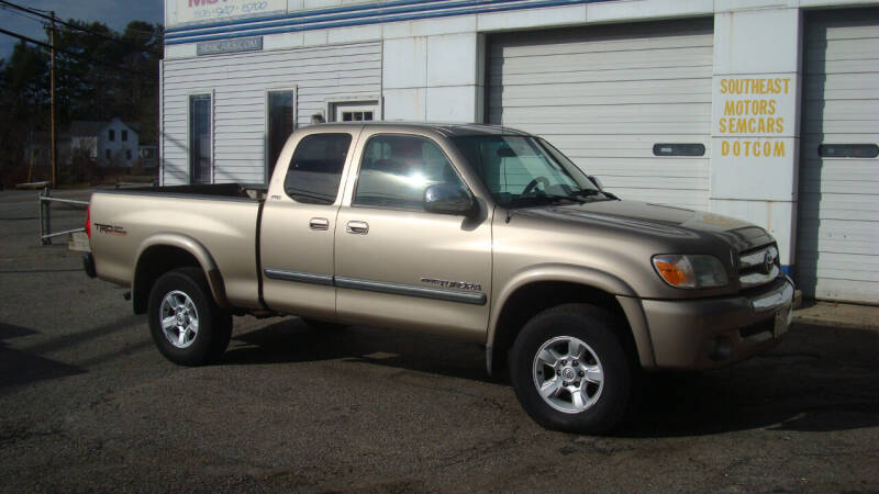 2006 Toyota Tundra for sale at Southeast Motors INC in Middleboro MA