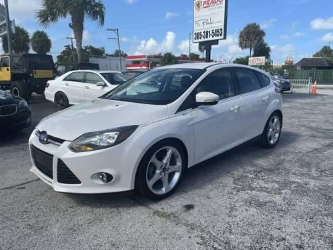2012 Ford Focus for sale at Prado Auto Sales in Miami FL