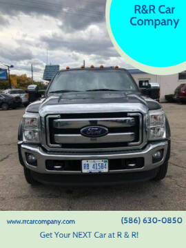 2015 Ford F-450 Super Duty for sale at R&R Car Company in Mount Clemens MI