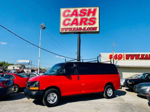 2007 Chevrolet Express Cargo for sale at www.CashKarz.com in Dallas TX
