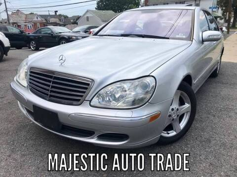 2004 Mercedes-Benz S-Class for sale at Majestic Auto Trade in Easton PA