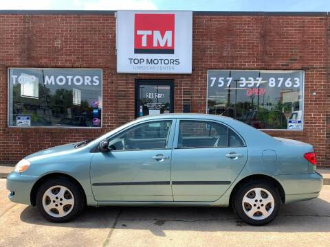 2005 Toyota Corolla for sale at Top Motors LLC in Portsmouth VA