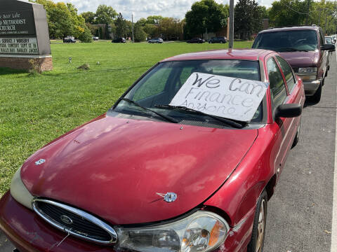 1998 Ford Contour for sale at Continental Auto Sales in White Bear Lake MN