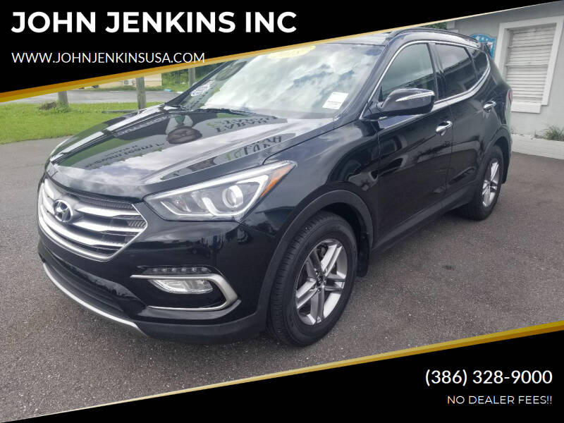 2018 Hyundai Santa Fe Sport for sale at JOHN JENKINS INC in Palatka FL