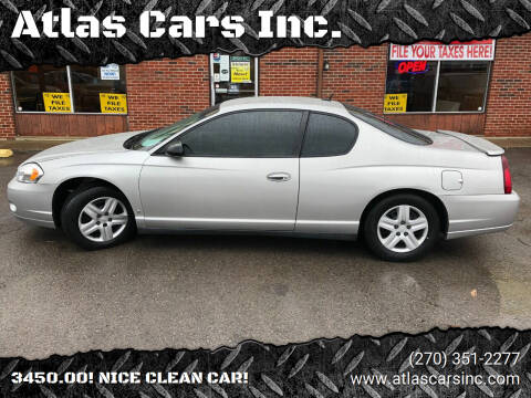 2006 Chevrolet Monte Carlo for sale at Atlas Cars Inc. in Radcliff KY