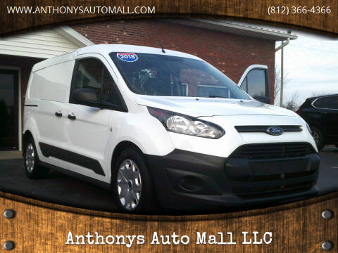 2018 Ford Transit Connect Cargo for sale at Anthonys Auto Mall LLC in New Salisbury IN