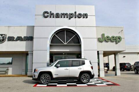 2020 Jeep Renegade for sale at Champion Chevrolet in Athens AL