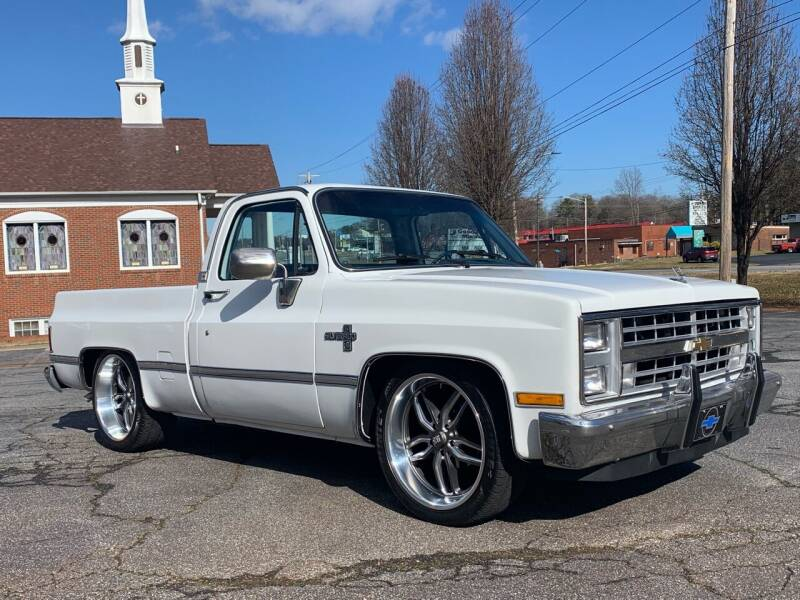 1986 Chevrolet C/K 10 Series for sale at Mike's Wholesale Cars in Newton NC