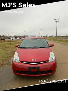 2008 Toyota Prius for sale at MJ'S Sales in O'Fallon MO