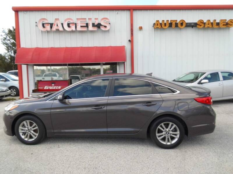 2015 Hyundai Sonata for sale at Gagel's Auto Sales in Gibsonton FL