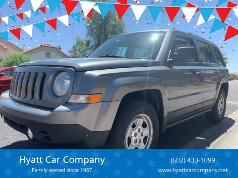 2012 Jeep Patriot for sale at Hyatt Car Company in Phoenix AZ