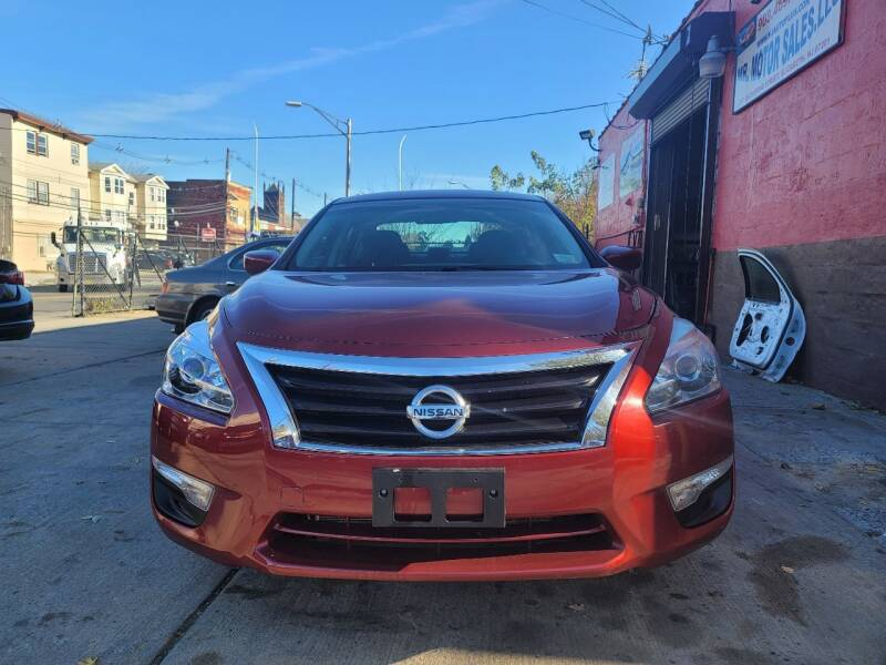 2015 Nissan Altima for sale at Mr. Motorsales in Elizabeth NJ