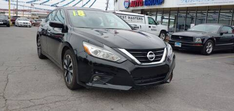 2018 Nissan Altima for sale at I-80 Auto Sales in Hazel Crest IL