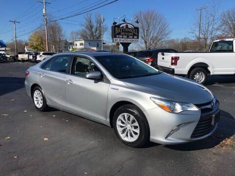 2017 Toyota Camry Hybrid for sale at BATTENKILL MOTORS in Greenwich NY
