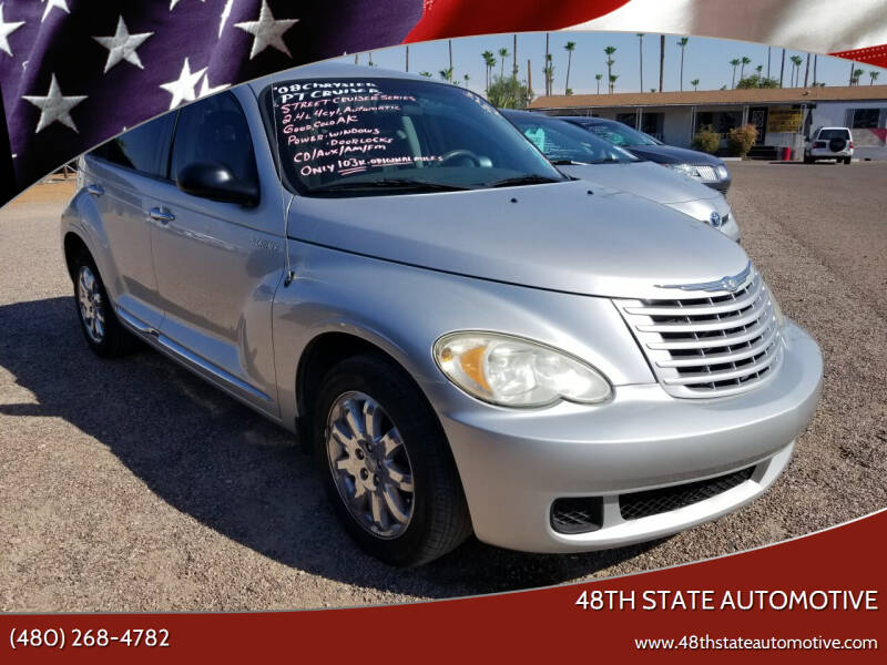 2008 Chrysler PT Cruiser for sale at 48TH STATE AUTOMOTIVE in Mesa AZ