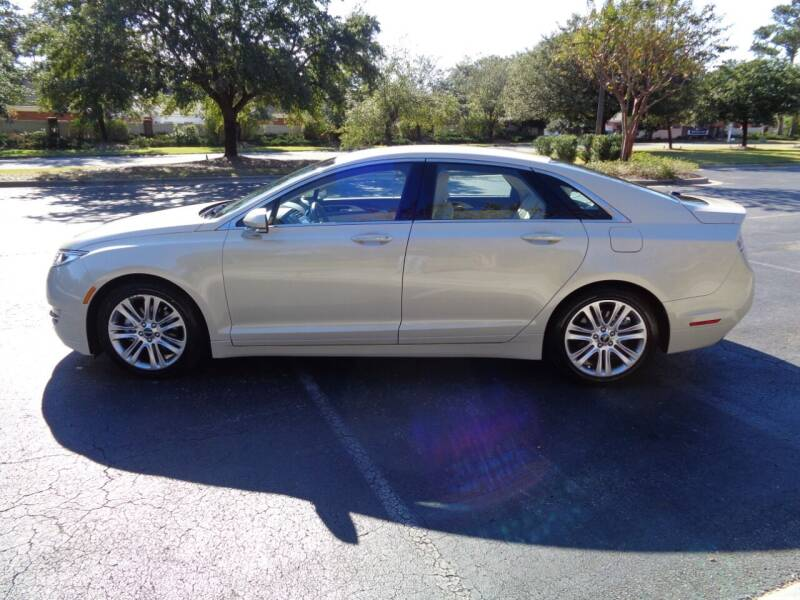 2016 Lincoln MKZ for sale at BALKCUM AUTO INC in Wilmington NC
