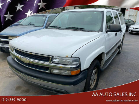 2005 Chevrolet Suburban for sale at AA Auto Sales Inc. in Gary IN