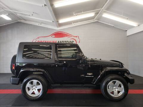 2009 Jeep Wrangler for sale at Premium Motors in Villa Park IL