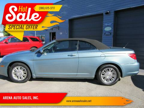 2009 Chrysler Sebring for sale at ARENA AUTO SALES,  INC. in Holly Hill FL
